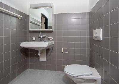 Alterssiedlung Quisisana Heiden Liegenschaft Badezimmer mit Dusche