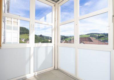 Alterssiedlung Quisisana Heiden Liegenschaft Balkon
